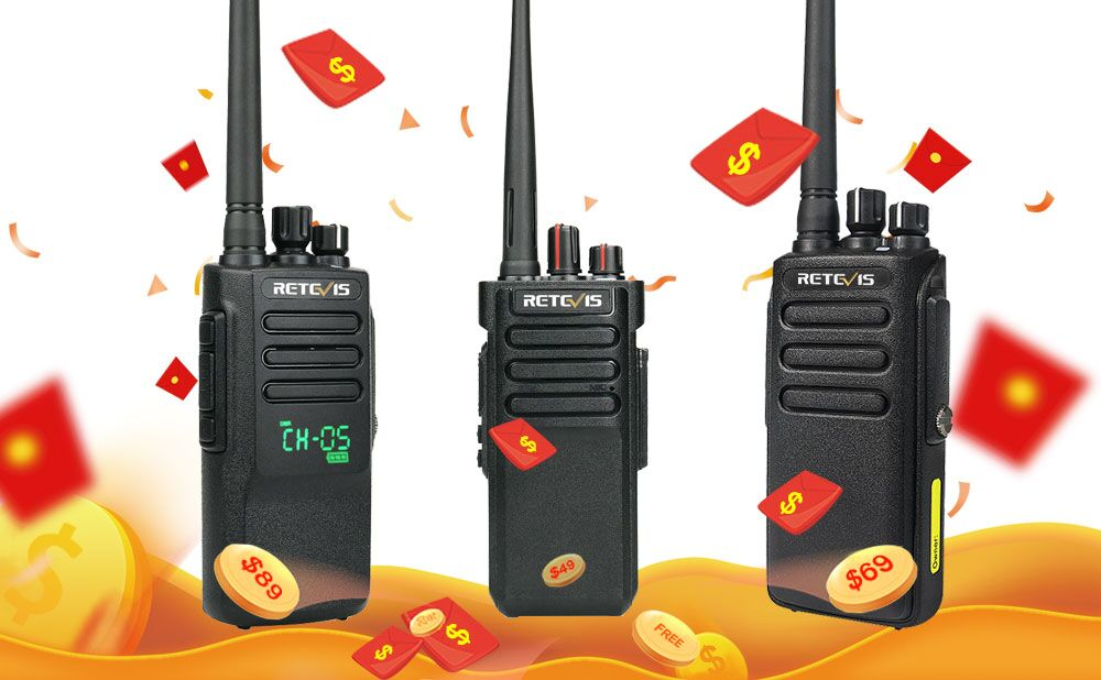 Post and Win-Retevis Waterproof radio promotion