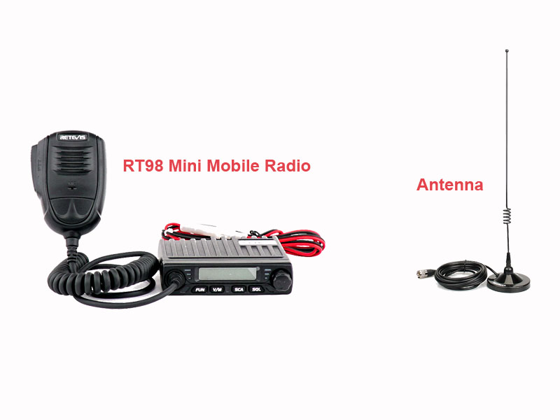 mini mobile raido with antenna