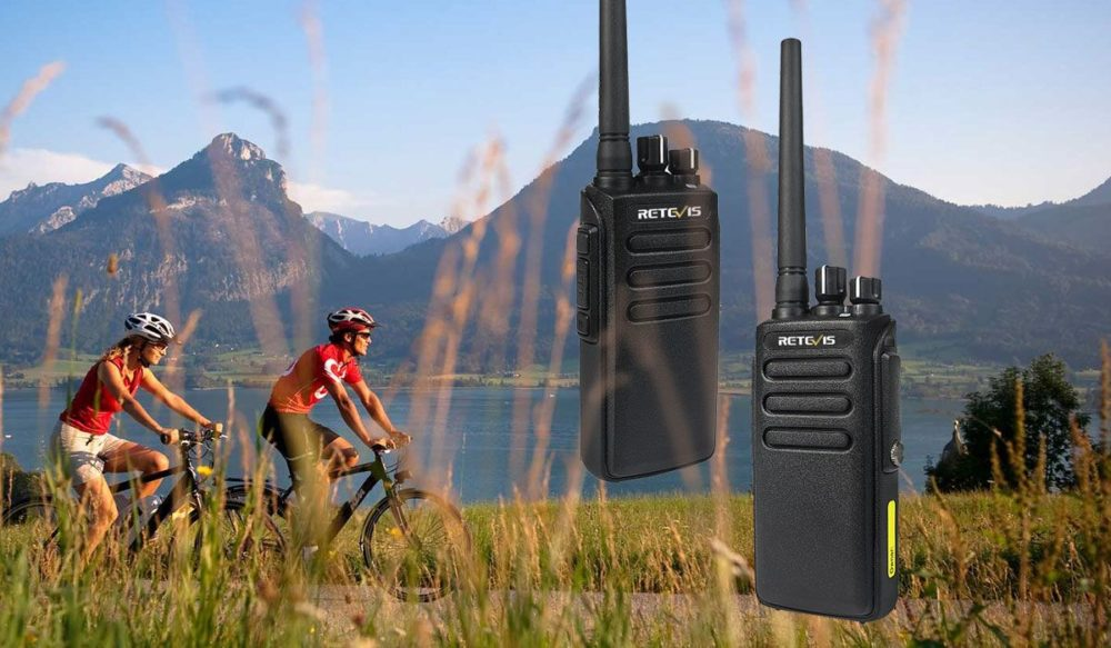retevis RT81-The best walkie talkie for cycling