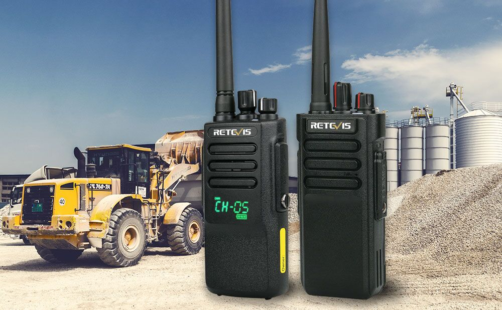 best walkie talkies for construction site Archives - Retevis