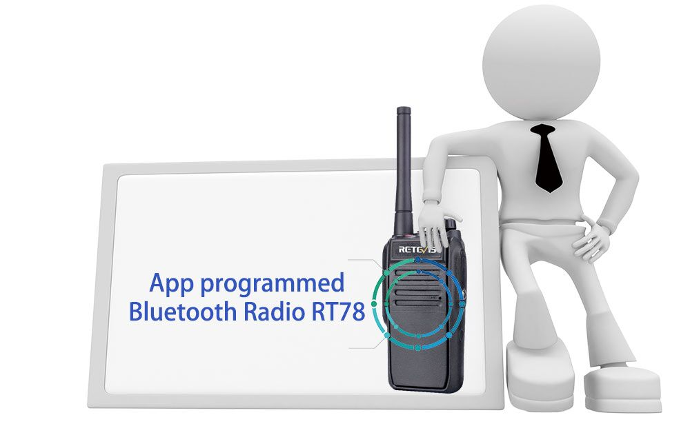 App programmed Bluetooth Radio RT78