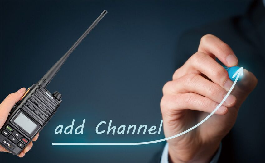 How to add channel for DMR radio RT71