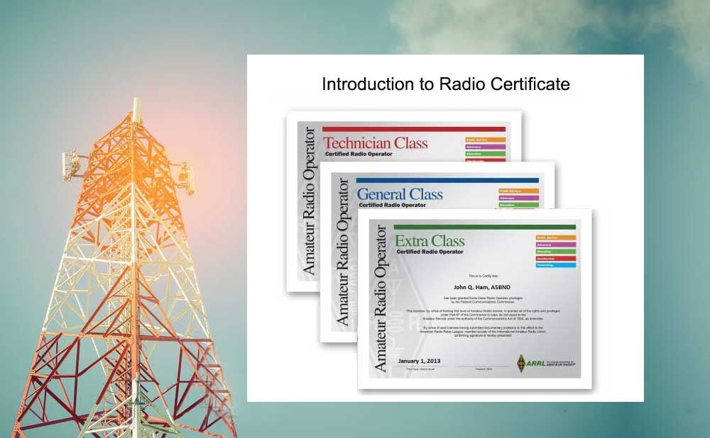 The US amaterur radio license