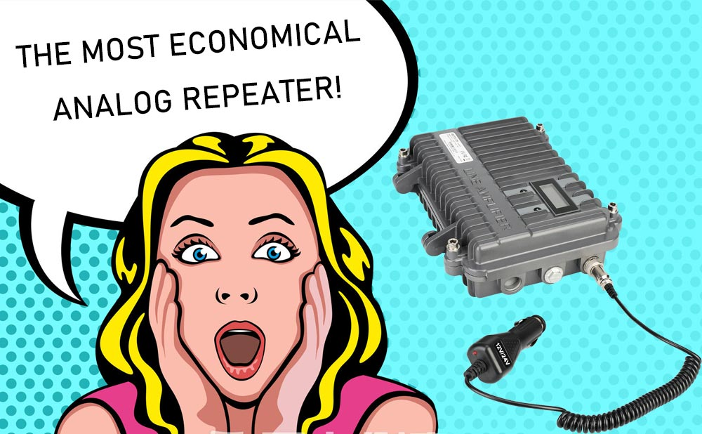 economical analog repeater