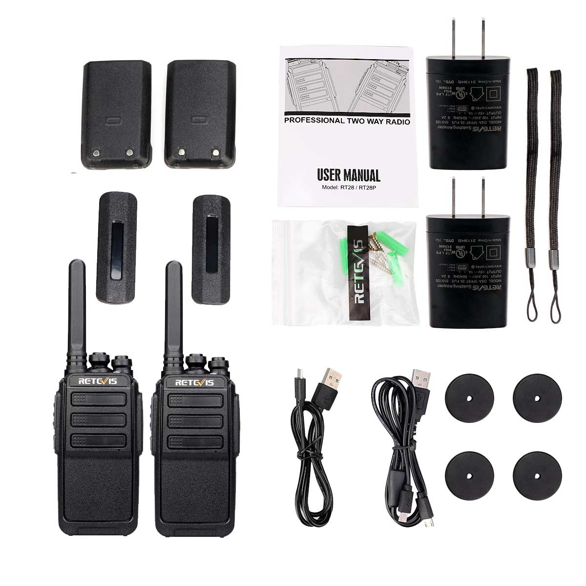 RT28P patrol function walkie talkie