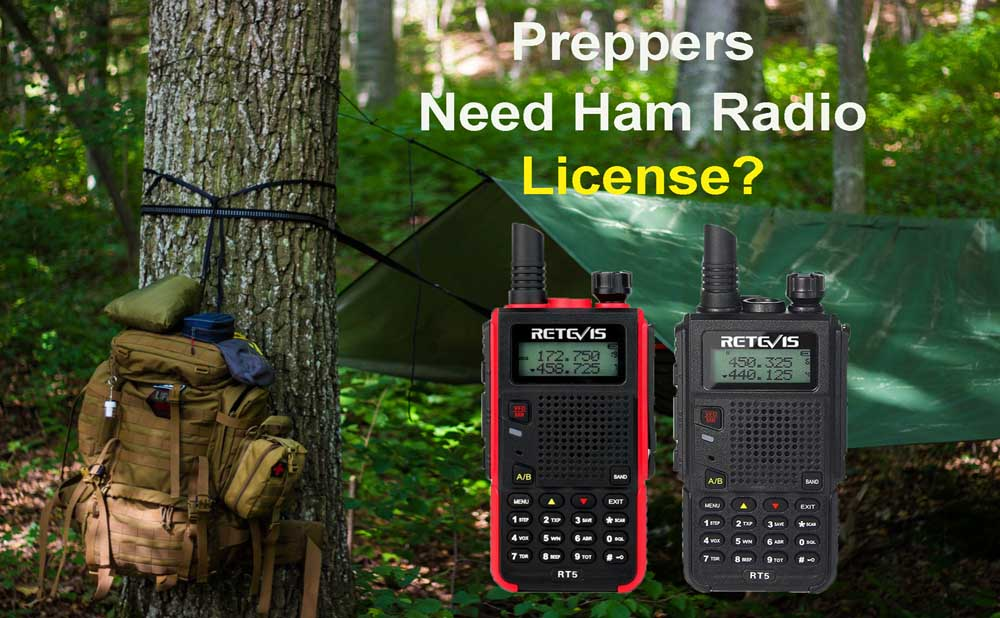 Preppers need ham radio License