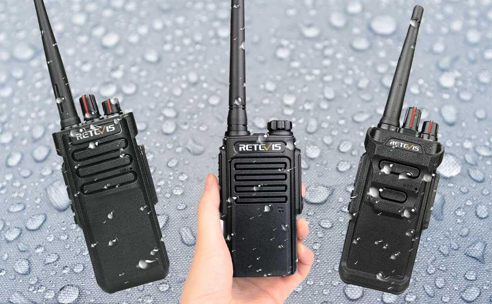waterproof series of walkie-talkies