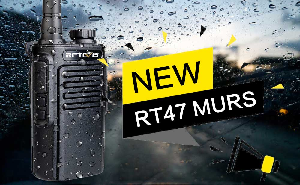 Retevis RT47 with MURS