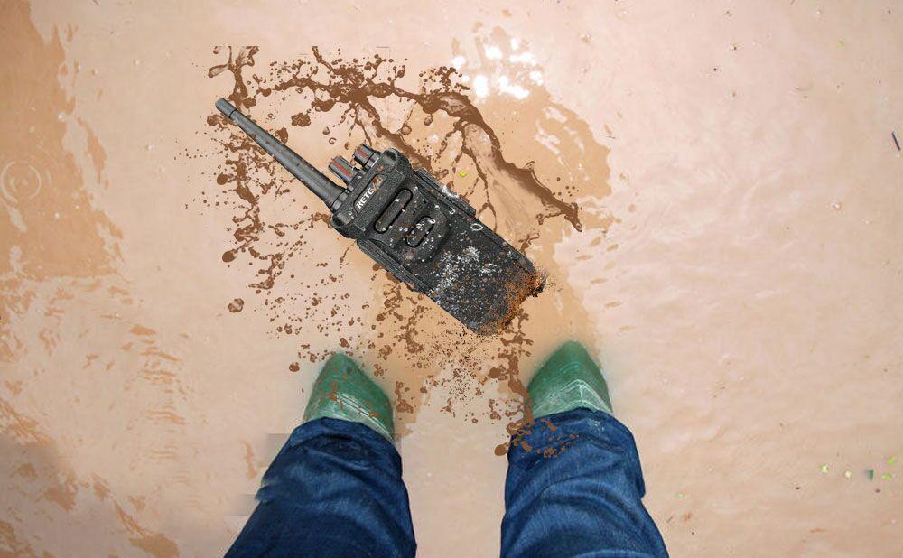 super waterproof walkie talkie