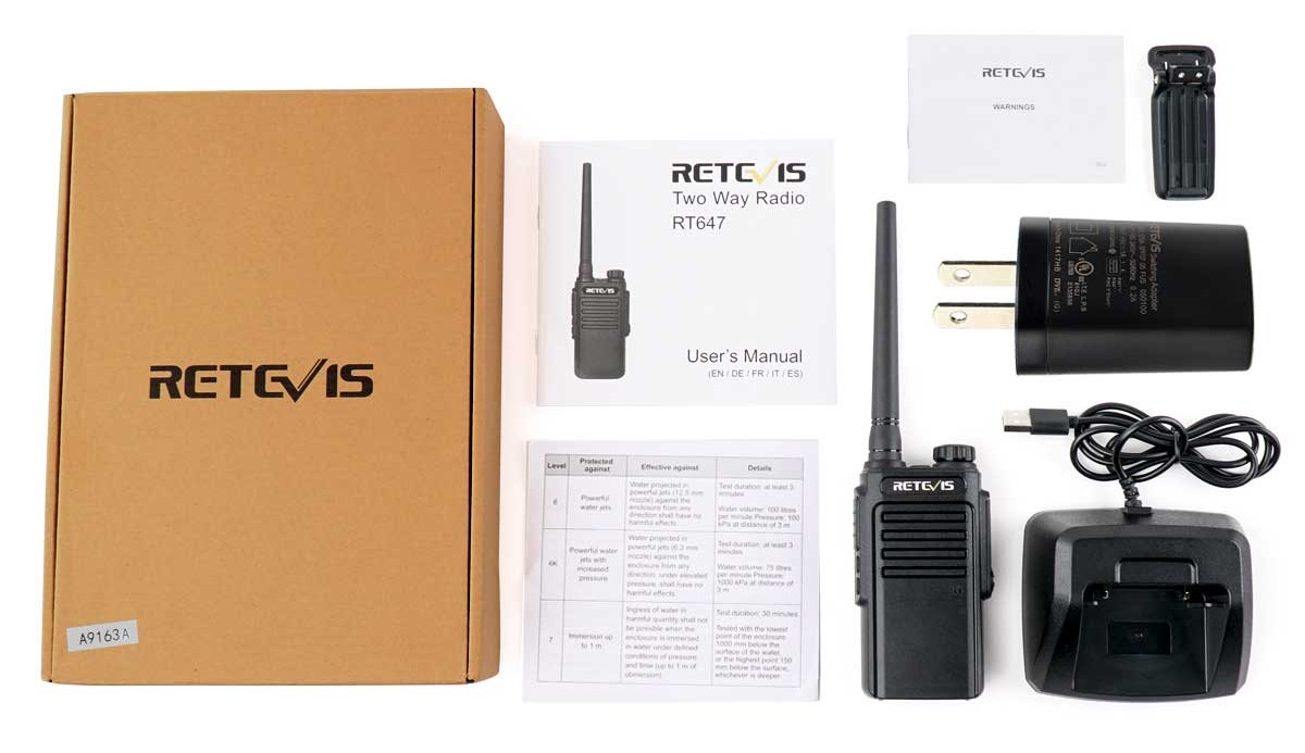 Retevis RT47V Giveaway Program