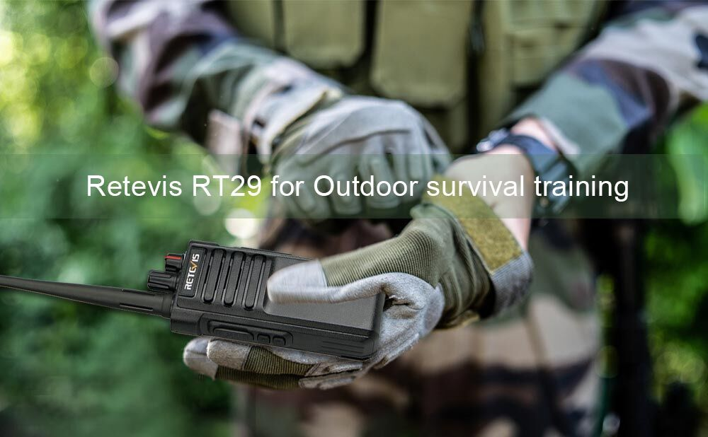 Retevis RT29 radio for outdoor training