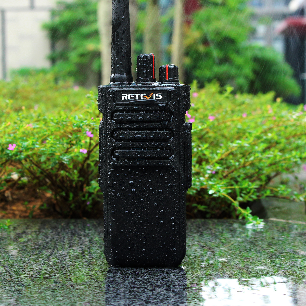 Waterproof walkie-talkie
