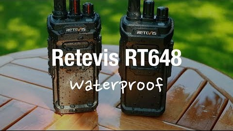 Retevis RT84 Waterproof radio