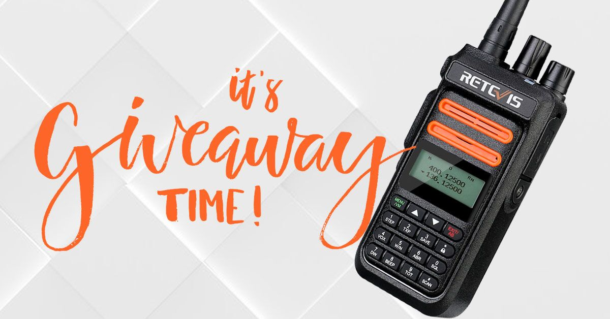 Retevis RT76P GMRS Radio Giveaway