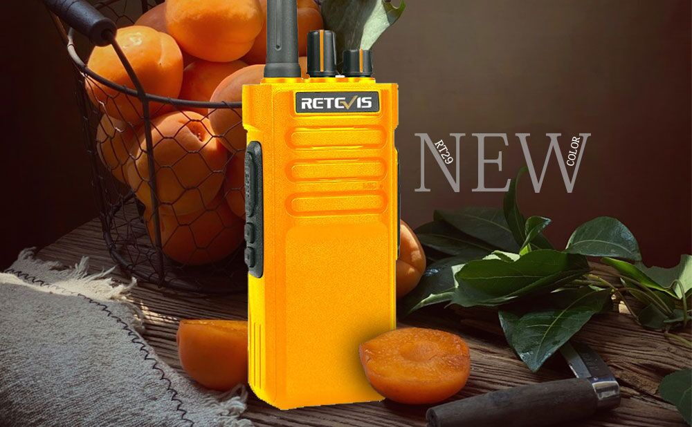 Orange Retevis RT29 is coming soon!