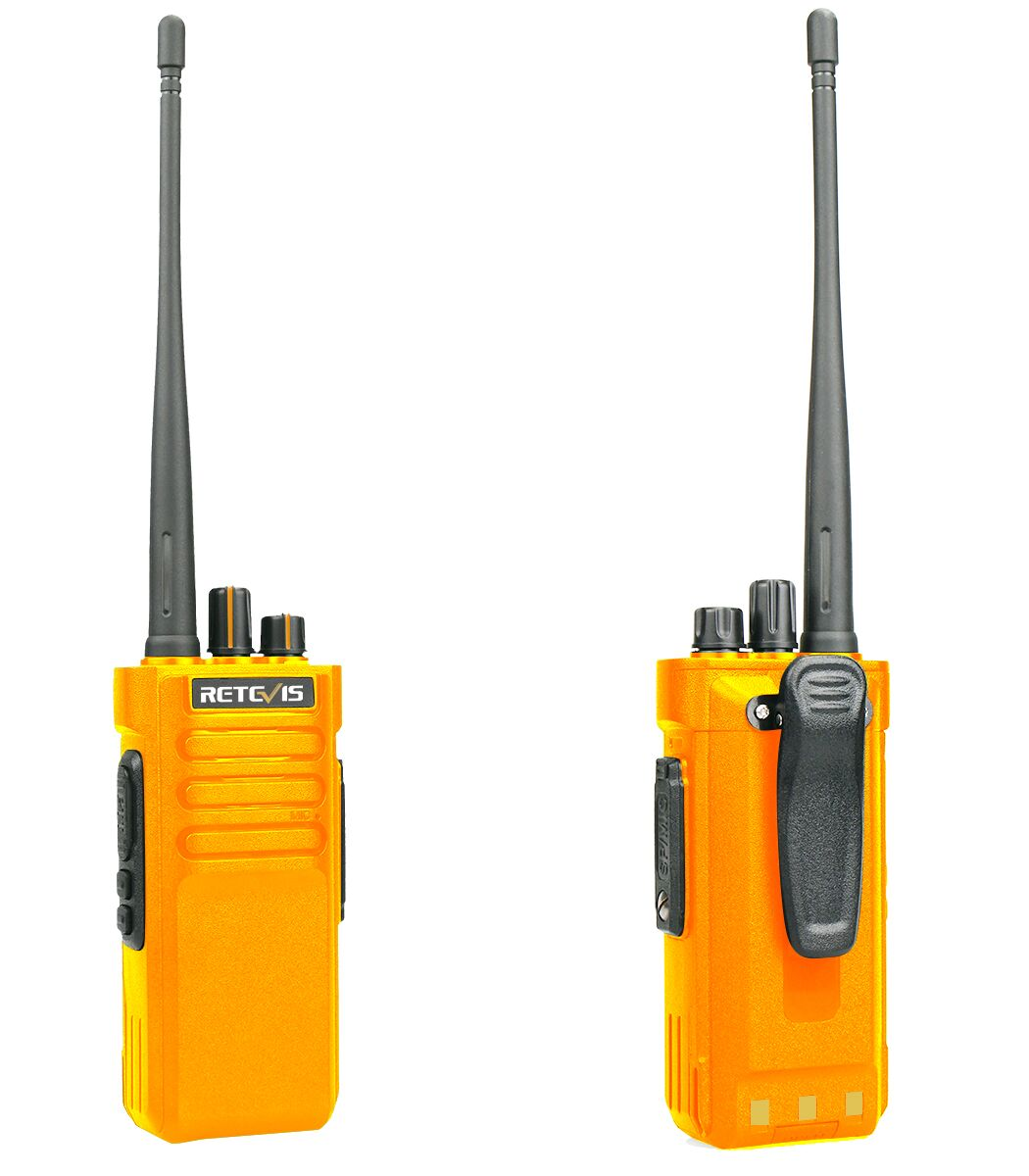 Retevis RT29 orange long-range radio is selling now.