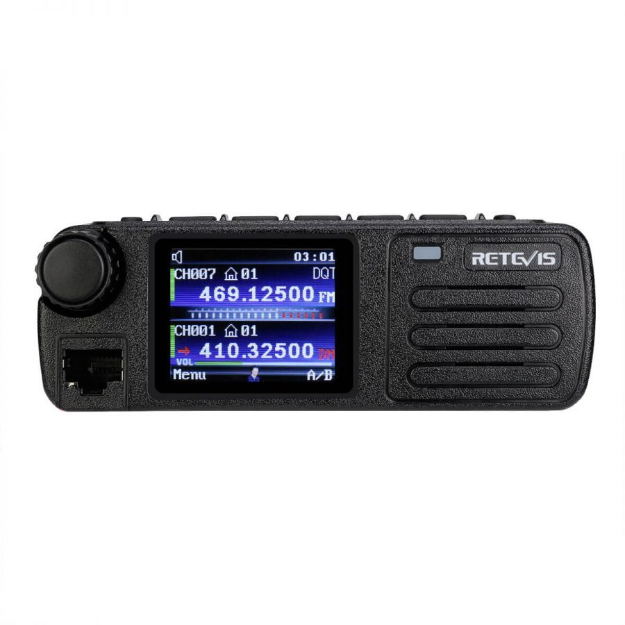LOOK! New Retevis RT73 Mini Mobile Radio with GPS