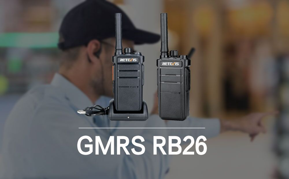 New GMRS Shows: Retevis RB26 With Wireless Copy