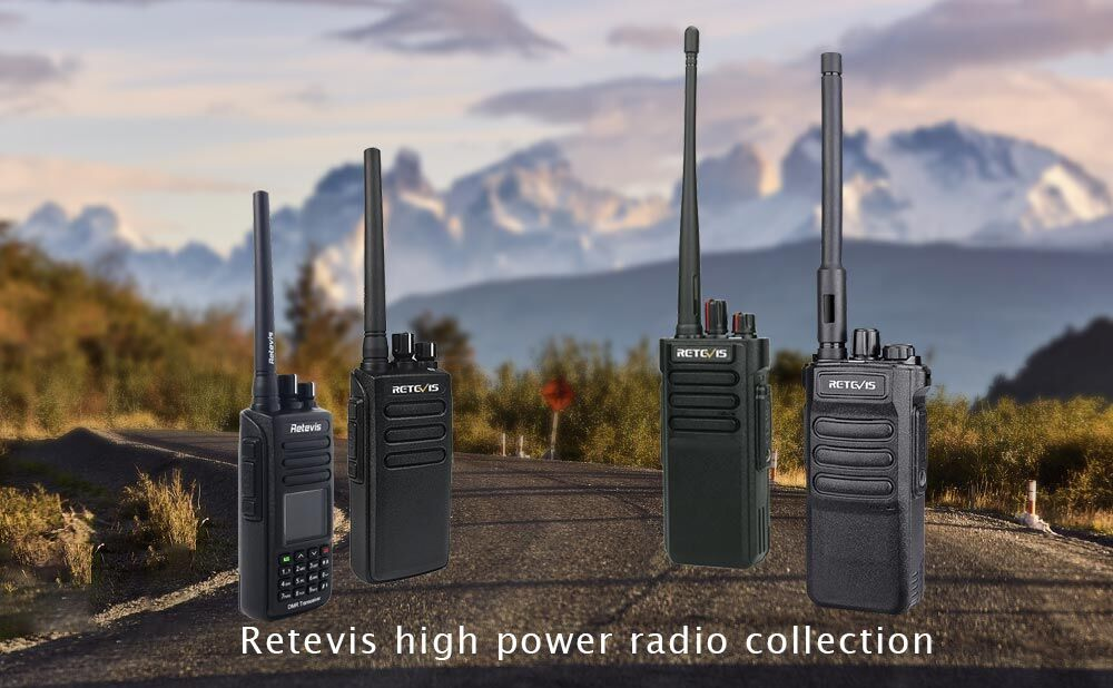Retevis High Power Radio Collection
