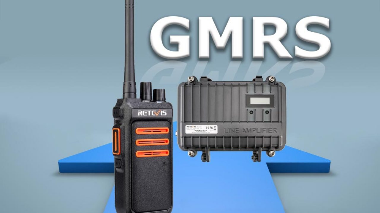 Retevis GMRS Radio—— Saving money for your business and family!