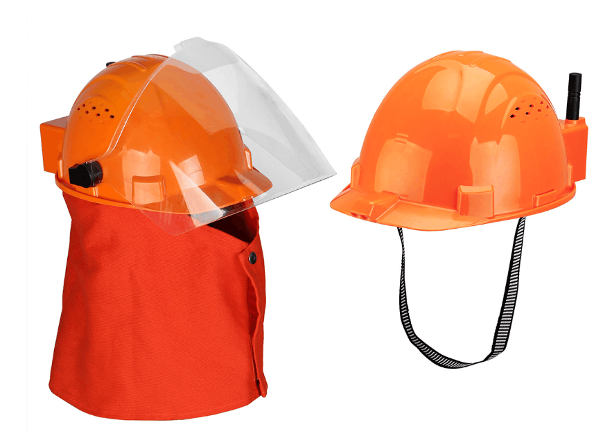 New arrival——Retevis RA16 Orange Safety Helmet Radio