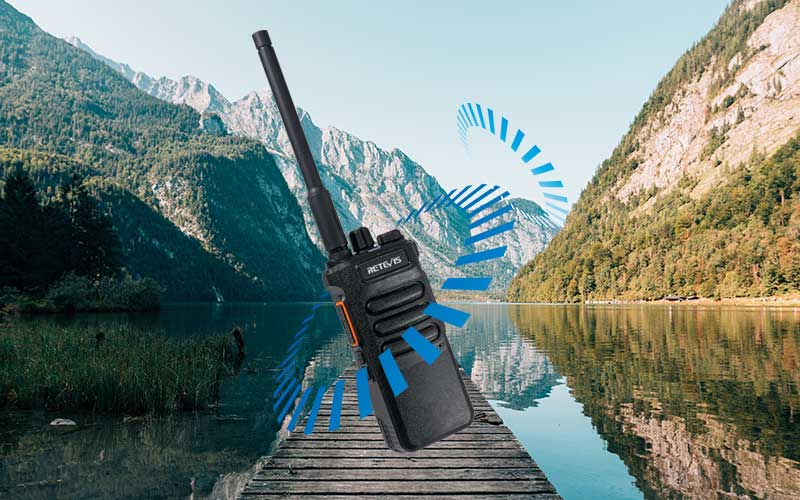 long-distance radio for outdoor hiking