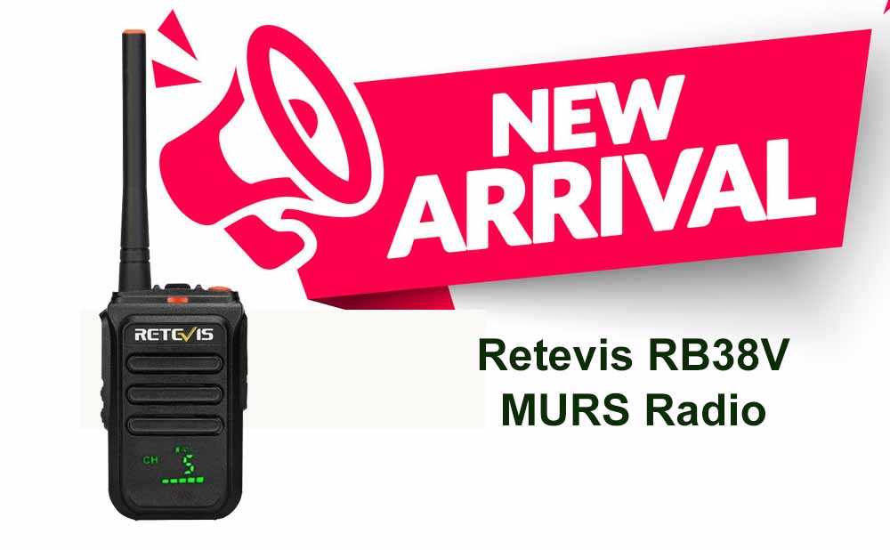 Retevis RB38V MURS TWO WAY RADIOS