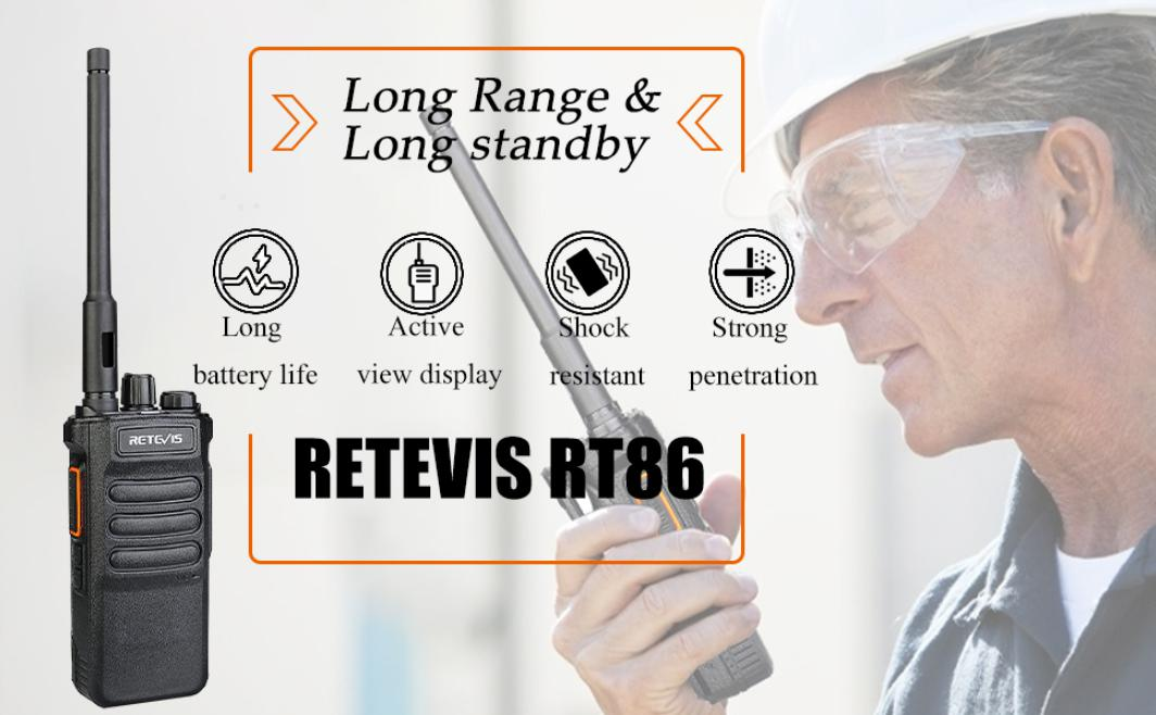 functions of Retevis RT86