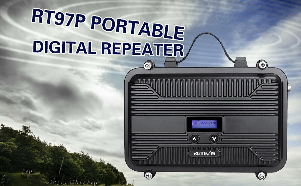 RT97P portable digital repeater