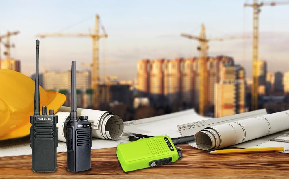 construction use walkie talkie