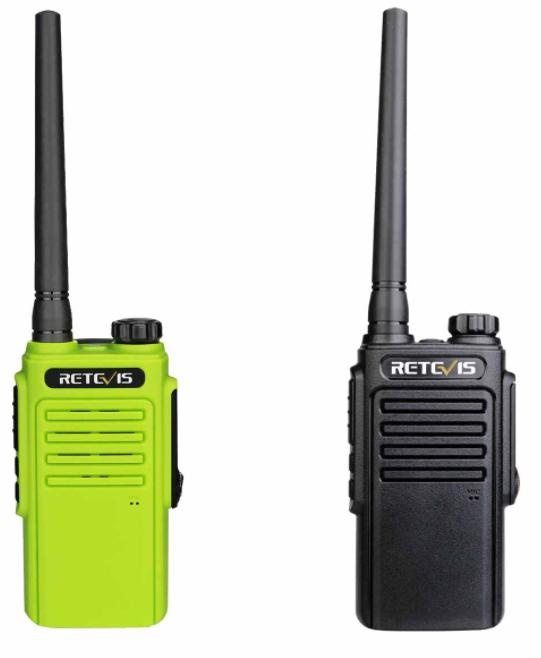 construction site use walkie talkie